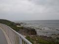 粟国島の海岸から