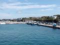 伊江島へ向かう船内からの風景1