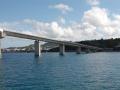 伊江島へ向かう船内からの風景4