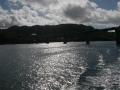 伊江島へ向かう船内からの風景7