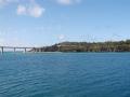 伊江島へ向かう船内からの風景8