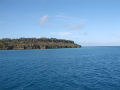 伊江島へ向かう船内からの風景9