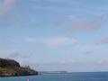 伊江島へ向かう船内からの風景10