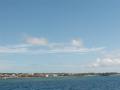 伊江島へ向かう船内からの風景22