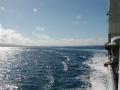 伊江島へ向かう船内からの風景23