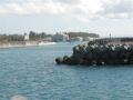 伊江島へ向かう船内からの風景25