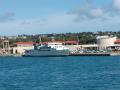 伊江島へ向かう船内からの風景26