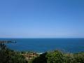 国頭村辺戸岬の巨大ヤンバルクイナがいる風景1