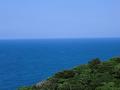 国頭村辺戸岬の巨大ヤンバルクイナがいる風景2