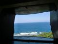 国頭村辺戸岬の巨大ヤンバルクイナがいる風景5