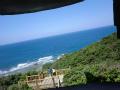 国頭村辺戸岬の巨大ヤンバルクイナがいる風景8