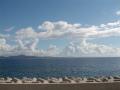 沖縄県本部町の海と空2