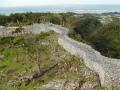 沖縄の世界遺産「今帰仁城址」の写真素材