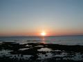 瀬長島からの夕日
