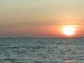 瀬長島の夕日写真